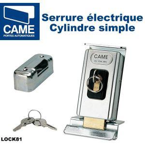 Came 001LOCK81 - Serrure électrique de blocage à cylindre unique