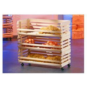 rangement legumes bois comparer 36 offres. Black Bedroom Furniture Sets. Home Design Ideas