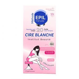 Skin Minute Epil Minute - Cire Blanche - 20 bandes corps