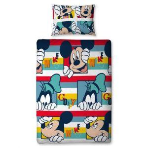 Mickey Play - Housse de couette et et taie 100% microfibre (140 x 200 cm)