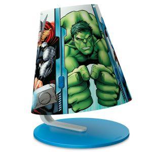 Philips 71764/35/16 - Lampe à poser Avengers Marvel