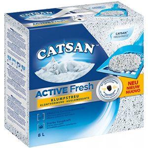 Catsan Active Fresh - Litière agglomérante 2x 8 litres