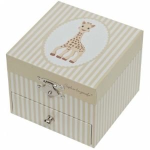 Trousselier Boîte à musique Cube Sophie la Girafe