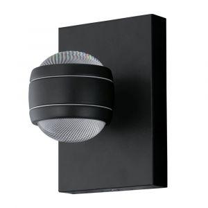 Eglo Applique extérieure Sesimba LED intégrée 3.7 W = 640 Lm, noir