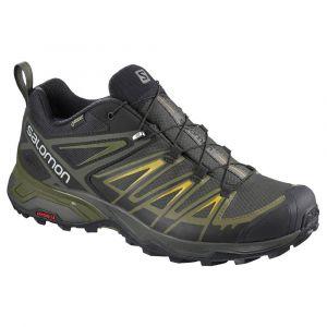 Salomon X Ultra 3 GTX - Chaussures multisports taille 12, noir/vert olive