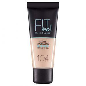 Maybelline Gemey Fit Me - Poudre mat antipores - 104 BL