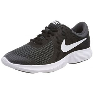 Nike Revolution 4 (GS), Chaussures de Running Garçon, Noir (Black/White-Anthracite 006), 39 EU