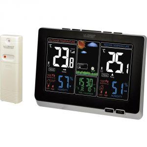 La Crosse Technology WS6828-BLA - Station météo avec écran LCD coloré