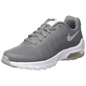 Nike Air Max Invigor (GS), Chaussures de Running garçon, Gris (Cool Wolf Grey-Anthracite-White), 38.5 EU