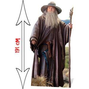 Figurine en carton taille réelle Gandalf Le Gris Le Hobbit