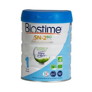 Biostime Lait bébé bio infantile 1er âge 800g