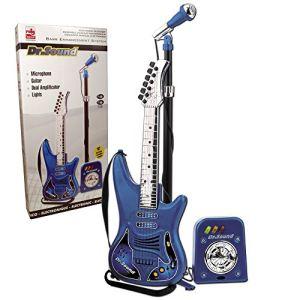 Reig Musicales 843 - Set guitare + micro avec fonction ampli