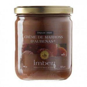 Imbert Crème de marrons d'Aubenas - Pot 120g