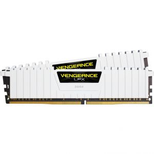 Corsair CMK16GX4M2A2666C16W - Barrette mémoire Vengeance LPX Series Low Profile 16 Go (2x 8 Go) DDR4 2666 MHz CL16