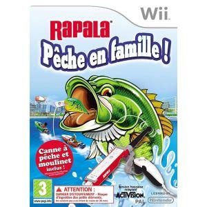 Rapala We Fish + Canne à pêche [Wii]