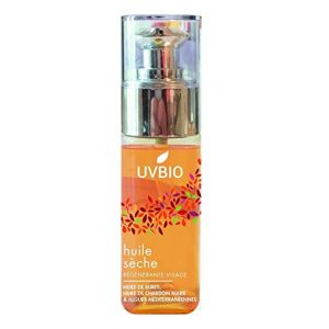 UVbio Huile Sèche Anti-Âge Régénérante pour le Visage - 50 ml
