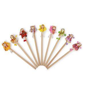 Legler 6964 - Crayons Fillette aux fleurs