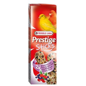 Versele Laga Prestige Premium Sticks Canaris Fruits des bois - 2 x 30 g