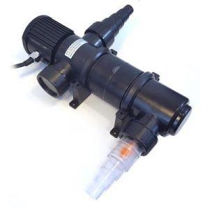 BC-Elec Stérilisateur d'étang UV 11W- clarificateur de bassin UVC 11W -