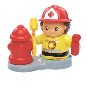 Vtech Tut Tut Copains Métiers : Timothée p'tit Pompier et sa borne incendie