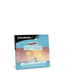 Wonderbox Coffret Cadeau Happy Birthday