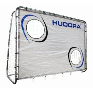 Hudora 76920 - But de football avec mur de tir au but 213 cm