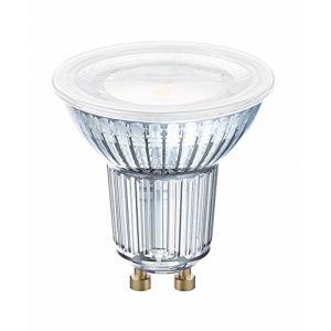 Osram LED STAR PAR16 / Spot LED, Culot GU10, 4,3W Equivalent 50W, 220-240V, Angle : 120°, Blanc Froid 4000K, Lot de 10 pièces