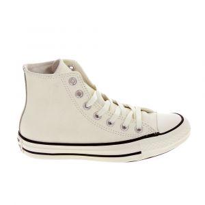 Converse Chaussures All Star Hi Cuir Beige Marron - Taille 41