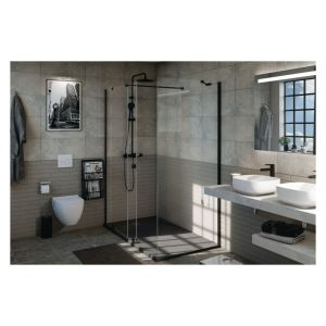 Alterna COLONNE DE DOUCHE THERMOSTATIQUE DAILY' NOIR