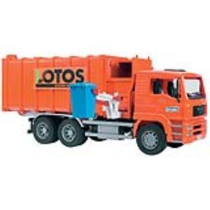 Bruder Toys 2761 - Camion poubelle MAN à chargement latéral - Echelle 1:16