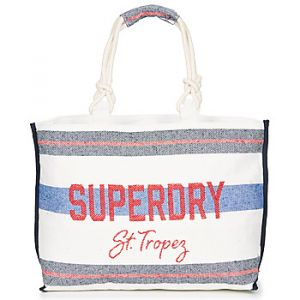 Superdry Sac fourre tout amaya rope tote navy red non communique