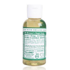 Dr bronner's Savon liquide amande 59 ml