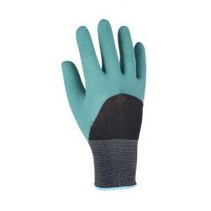 Gant tricoté 100% polyester avec induction latex travaux de jardinage