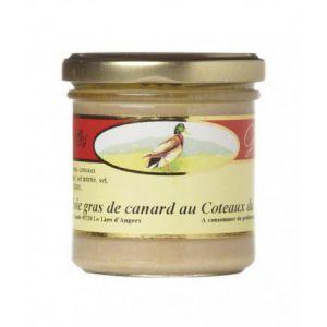 Les treilles gourmandes Bloc de foie gras de canard aux Coteaux du Layon, Verrine 125 gr