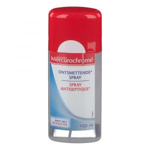 Mercurochrome Spray Antiseptique 100 ml