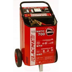Lacme VATMATIC 700 - Chargeur Démareur automatique avec variateur et télécommande pour batteries 12V