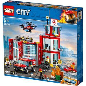 Lego City 60215 - La caserne des pompiers