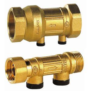 sferaco 340255 - Clapet de non retour Scudo apres compteur 15 NF 340 3/4-3/4M à purge