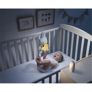 Chicco Écoute bébé audio Top First Dreams + veilleuse Petit Ourson First Dreams - Bleu