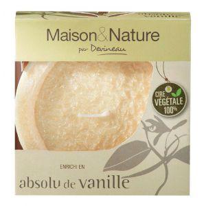 Devineau Vanille - Bougie déco évasée parfumée aux huiles essentielles