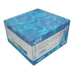 Gre FPROV818 - Liner 40/100 pour piscine ovale hors sol 810 x 470 x 132 cm (avec rail d'accroche)