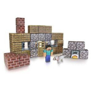 Jazwares Minecraft Papercraft : kit pour abri