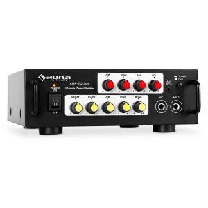 Auna Amp-EQ-Sing - Ampli PA hifi karaoke stereo 2 micro 400W