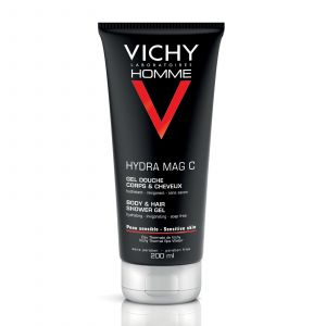 Vichy Homme Hydra Mag C - Gel douche corps et cheveux 200ml