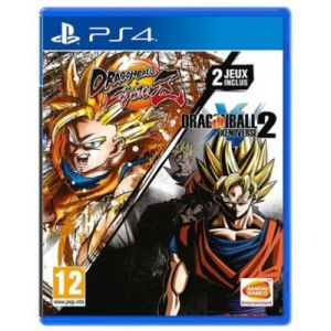 Jeu PS4 Namco DragonBall FighterZ + Xenoverse 2 [PS4]
