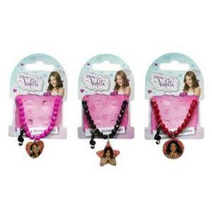Bracelet élastique Violetta avec pendentif