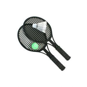 B&G International Sachet Badminton 34 Cm Avec 1 Balle Et 1 Volant -
