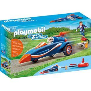 Playmobil 9375 - Pilote et voiture fusée
