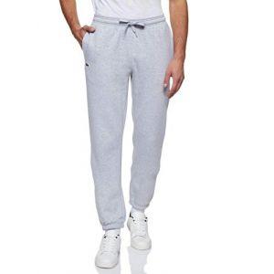 Lacoste Pantalon de survêtement Tennis Sport en molleton uni Taille 5XL Gris Chiné