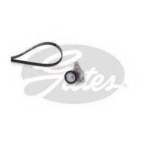 Gates Kit de courroies d'accessoires K016PK1070